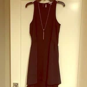 Layered classic black dress